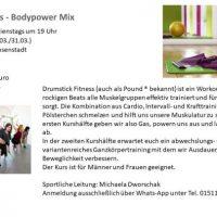 Drumstick Fitness – Bodypower Mix